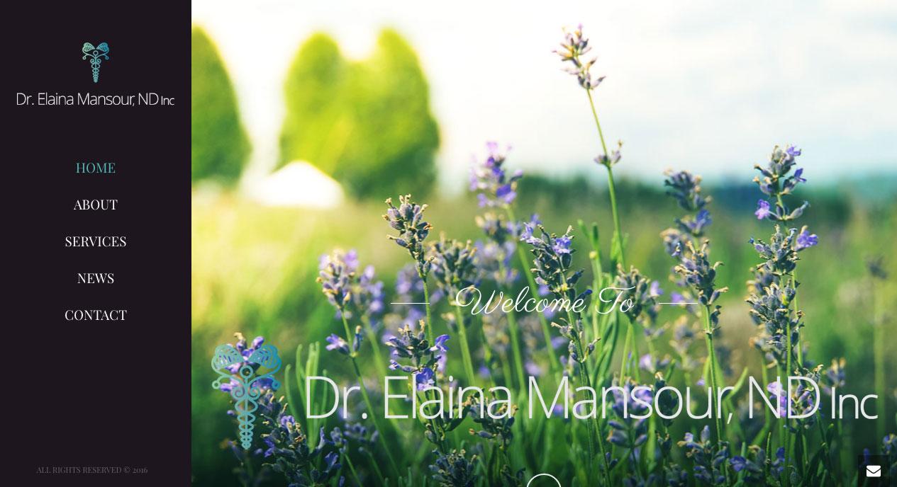 Dr. Elaina Mansour