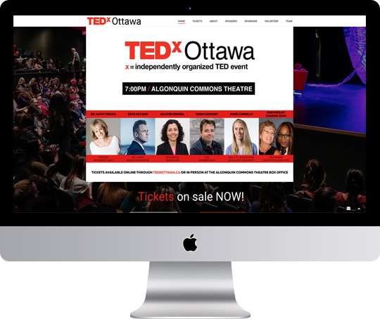 Ryan Cameron WordPress Expert - Tedx Ottawa