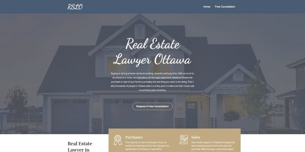 Real Estate Lawyer Ottawa